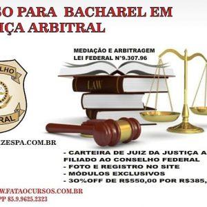BACHAREL JUSTIÇA ARBITRAL