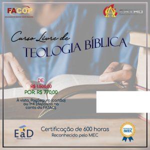 Curso Livre Teologia Bíblica