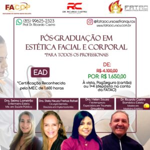 Pós-Graduação em Estética Facial e  Corporal
