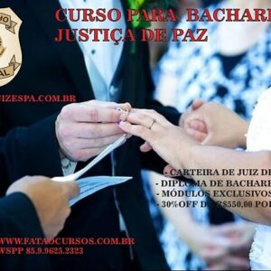 BACHAREL JUSTIÇA DE PAZ