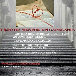 MESTRE EM CAPELANIA CRISTÃ