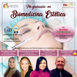 Pós-Graduação em Biomedicina Estética