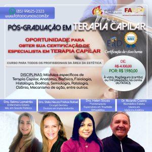 Pós-Graduação em Terapia Capilar