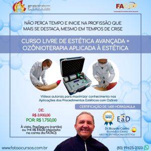 Curso Livre de Estética Avançada + Ozônioterapia Aplicada à Estética